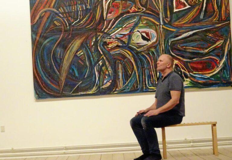 Thomas Højrup ved kulturfestivalen »Den krøllede hjerne«